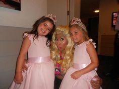Sophia Grace and Rosie  with Nicki Minaj