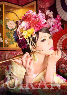 京都 花魁体験 neo花魁 neo Oiran #花魁体験 #京都 #Oiran #kyoto #geisha #kimono