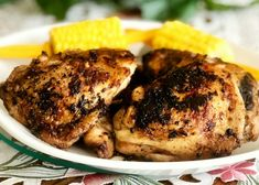 Photo of Blackened Ranch Pan-Fried Chicken Thighs by Yoly Pan Fried Chicken Thighs, Pan Cooked Chicken, Garlic Chicken Thighs Recipe, Chicken Thighs Dinner, Chicken Thigh Recipes, How To Cook Chicken, Chicken Menu, Ranch Chicken, Boneless Chicken