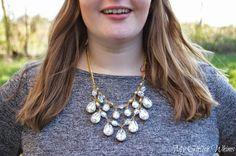 DIY Rhinestone Statement Necklace . . . make your own!