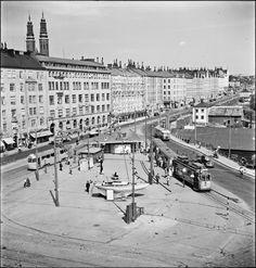 Vy över Hornsplan - Stockholmskällan