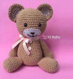 Urso de Crochê Amigurumi