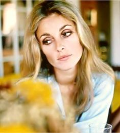 Sharon Tate by Peter Bruchmann  At her home in Sumitridge Drive, 1968