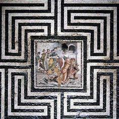 Villa del Labirinto, Pompei - 80-60 a.C.