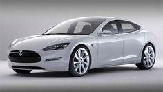 Tesla Model S. Electric sedan. Seats Seven. Cool. I know.