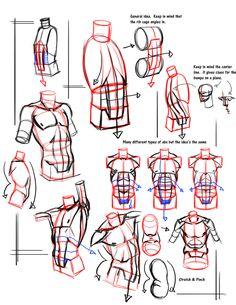 Simple form break down abs by FUNKYMONKEY1945 on deviantART via PinCG.com