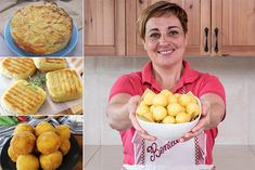 Potato Dishes, Potato Recipes, Focaccia Pizza, Tapas, Potato Vegetable, Antipasto, Biscotti, Sweet Recipes, Buffet