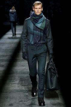 Sfilata Moda Uomo Brioni Milano - Autunno Inverno 2016-17 - Vogue
