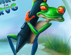 """Check out new work on my @Behance portfolio: """"Hard work - Hard for frog"""" http://be.net/gallery/32269625/Hard-work-Hard-for-frog"""