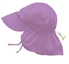 1435ebc99fa Unisex Baby Solid Flap Sun Protection Hat UPF - Love the Edit