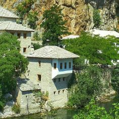 Throughout its history the region of Herzegovina has been the meeting point of different cultures. Relax and enjoy the clear waters and nature in Blagaj. #travel #blagaj #buna #mostar #waterfalls #herzegovina #TGM #TourGuideMostar #bosniaandherzegovina #landscape #tekke #blagaj #tekija