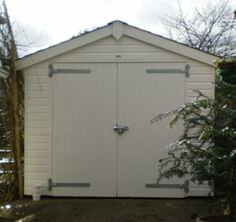 3.6m wide Timber Garage