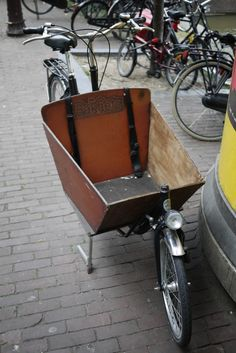The Dutch version of the pickup truck. Enter: the Bakfiets…