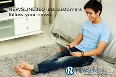#Newsrooms aren't just for journalists. Your customers can follow your news, receiving it in real-time. #NEWSLINE360™ #onlinenewsroom #contentmarketing #publicrelations #brandjournalism -