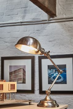 With our beautiful bespoke desk lamp 💡   #Industville #Office #Light