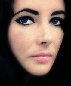 Ron Ben Israel said I had Elizabeth Taylor eyes...I'll take that any day! (Liz Taylor by William Klein - 1965)