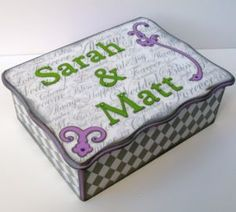 Custom Wedding Keepsake/Card Box