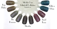 Models Own Glitterball Collection & Instagram GIVEAWAY Announcement | Review & Swatches