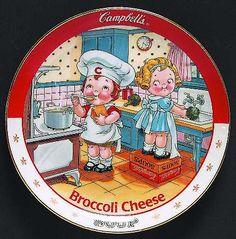 Danbury Mint, Campbell Soup Kids at Replacements, Ltd Vintage Tins, Vintage Plates, Danbury Mint, Healthy Soup Recipes, Vintage Pictures, Vintage Advertisements, Paper Dolls, Childhood Memories, Postcards