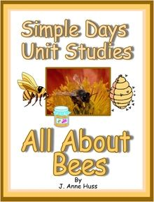 escription:  Simple Schooling All About Bees printable unit study comes with the Interactive unit study FREE!  Just click the link on the first page and see how much fun learning can be!    Simple Schooling All About Bees takes your elementary age student on a journey through the hive where they will learn all about:    Bee body parts  The Queen  The Drone  The Worker  Life in the hive  Winter in the Hive  Beekeeping  Bee allergies  And Much MUCH more!  99 cents