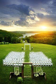 Weddings on the lawn of Big Cedar Lodge overlooking Table Rock Lake are truly breathtaking.   http://www.explorebranson.com/blog/2013/04/celebrate-romance-in-branson/