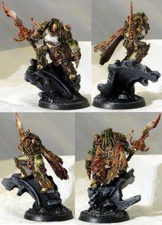 Chaos, Death Guard, Primarch, Sorceror, Space Marines
