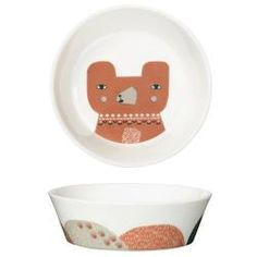 Bear Plate by Donna Wilson - bone china, made in the UK Ceramic Tableware, Ceramic Bowls, Baby Presents, Baby Eating, Made In Uk, Plates And Bowls, Having A Baby, Bone China, Dog Bowls