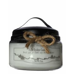 "FallsBridgeCandles Day at the Spa Jar Candle Size: 4"" H x 4"" W x 4"" D"