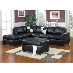 You'll love the 2-Piece Conrad Sectional & Tufted Ottoman Set at Joss & Main - With Great Deals on all products and Free Shipping on most stuff, even the big stuff.