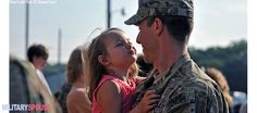 Our lives tend to move and evolve a bit more quickly than most. Here are 5 theories on how military families may evolve differently than our civilian Military Marriage, Military Families, Welcome Home Soldier, Soldiers Returning Home, Pictures Of Soldiers, Military Brat, Military Homecoming, Staff Sergeant, Army Love