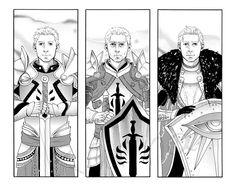 Cullen. From Origins to Dragon Age 2 to Inquisition