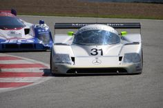 #31: Built by Sauber - Mercedes-Benz C11. World Sportscar Championship Group C prototype race car introduced in 1990.
