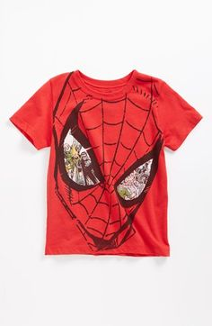 Mighty Fine 'Spiderman™ Enemy Eyes' T-Shirt (Toddler) available at #Nordstrom