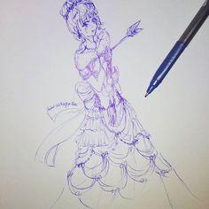 Ziel #Ballkleid  Wenigstens etwas geschafft zu #zeichnen xD weil mein kleiner eine Erkältung hat braucht er viel Zeit mit Mama :) #cutiepix #cutiepixdesign #anime #Mangas #manga #ball #balldress #frau #women #girl #mädchen #zeichnung #sketch #Skizze #draw #drawing #Kugelschreiber #pfeil #art #arrow #аниме #манга #платье #девушка #стрела #ресунок #рисовать