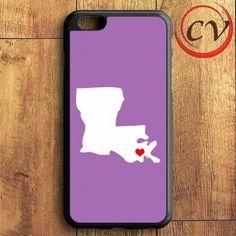 Purple State Heart iPhone 6 Plus | iPhone 6S Plus Case