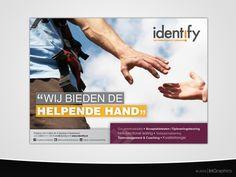 Flyer/ factsheet voor bedrijfsprofiel en individuele diensten