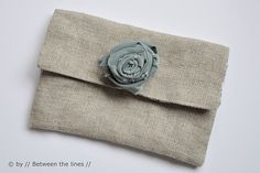 fabric roses - DIY Gift Ideas by // Between the Lines //, via Flickr