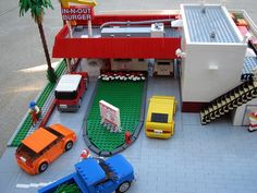 Lego In-N-Out Burger