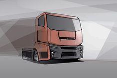Sketch city truck