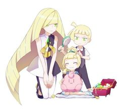 Image shared by Find images and videos about pokemon, lillie and pokemon sun and moon on We Heart It - the app to get lost in what you love. Lusamine Pokemon, Pokemon Pocket, Pokemon People, Pokemon Ships, Pokemon Memes, Pokemon Fan Art, Cute Pokemon, Pokemon Moon And Sun, Digimon