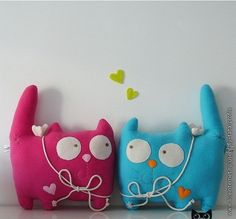 pattern for these cute cushions