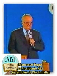 Per Francesco Toppi non costa nulla essere Cristiani Evangelici oggi