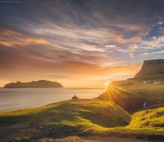Daniel Kordan. Yesterday I started my photo workshop in Scotland. And meanwhile please enjoy photos from Scotland's neighbor - Faroe islands. I traveled there with my photo workshop group in the beginning of August this year. Faroe impressed me by their solitude and remoteness. We had dramatic weather, and I am happy to share Faroe photos with you. This is Gasadalur, one of my most favorite places at Faroe islands. DanielKordan.com #faroe #Faroeislands #visitfaroeislands #gasadalur