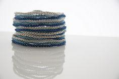 Braided bracelet. #bracelet, #crochet