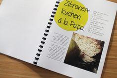 Geschenkidee: Kochbuch zur Hochzeit - DIY Hochzeit