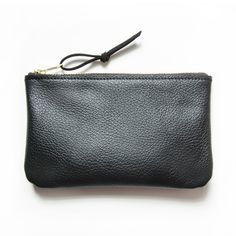 the mighty all-purpose black leather pouch