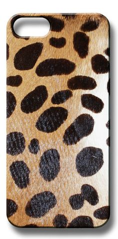 Valenz Handmade Poney Cheetah Skin iPhone Case