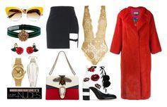 """#206"" by twinklelady on Polyvore featuring mode, GEDEBE, Gucci, Coco de Mer, Dolce&Gabbana, Gabriele Frantzen, Charlotte Russe, Victoria's Secret et Rolex"