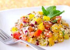 Colorful Tomato and Quinoa Salad