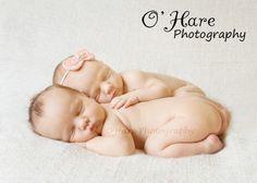 Twin newborn photography twins